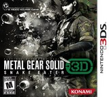 Metal Gear Solid 3D: Snake Eater (Nintendo 3DS)